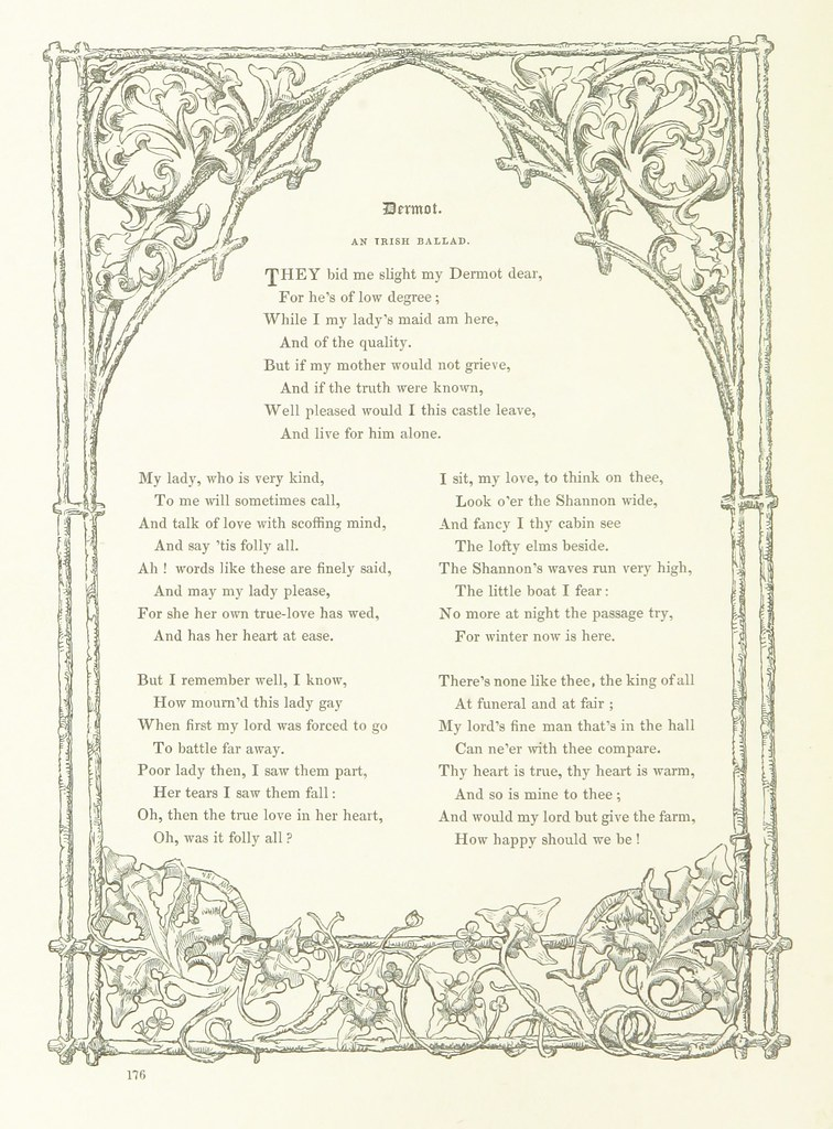 Image Taken From Page 192 Of Poems And Pictures A Collec Flickr
