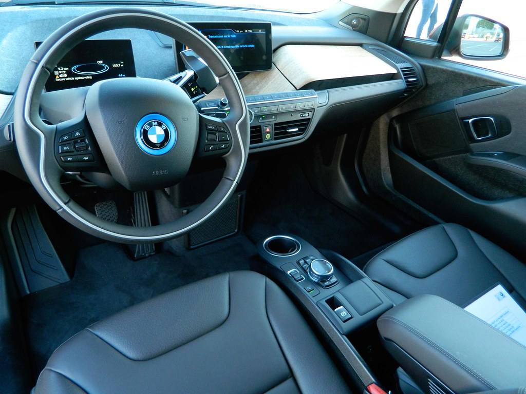 Bmw I4 Interior This Is The Bmw I4 Electric Car That Was A Flickr