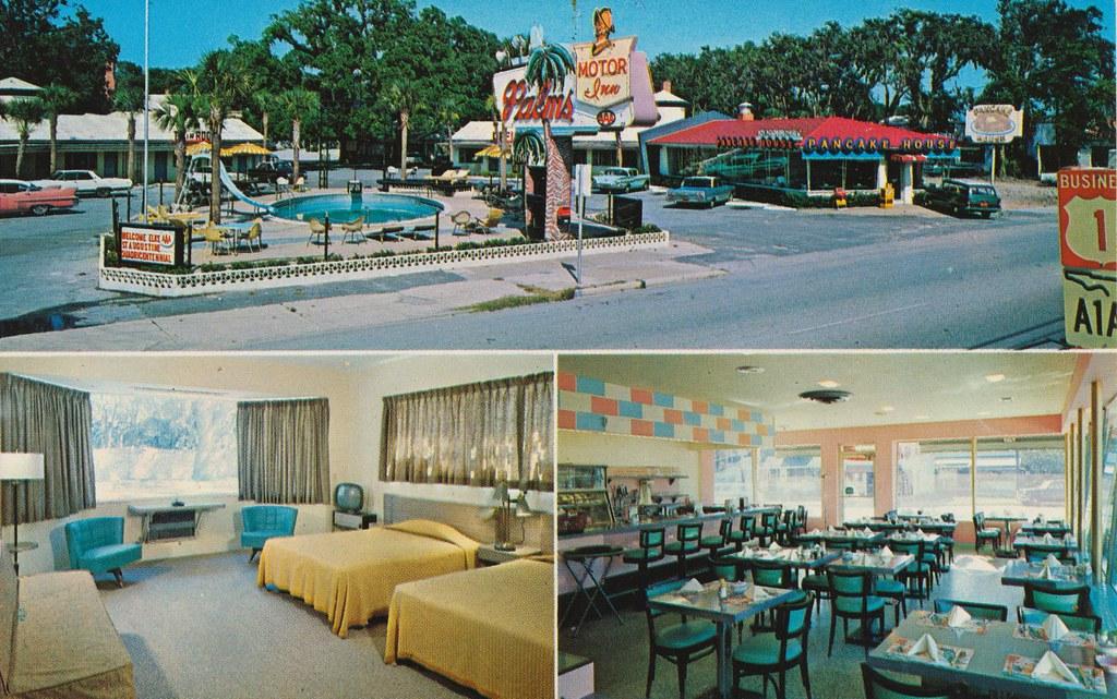 Palms Motor Inn Restaurant & Pancake House - St. Augustine, Florida