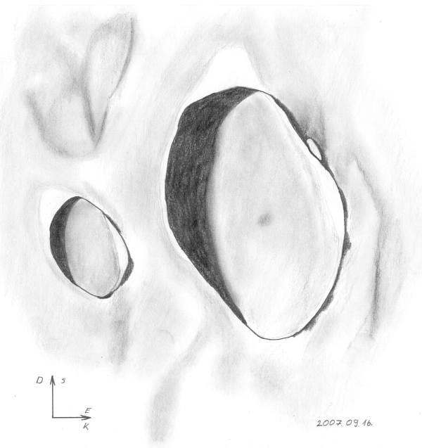 Macrobius and Tisserand crater - Bognár Tamás, Zákány