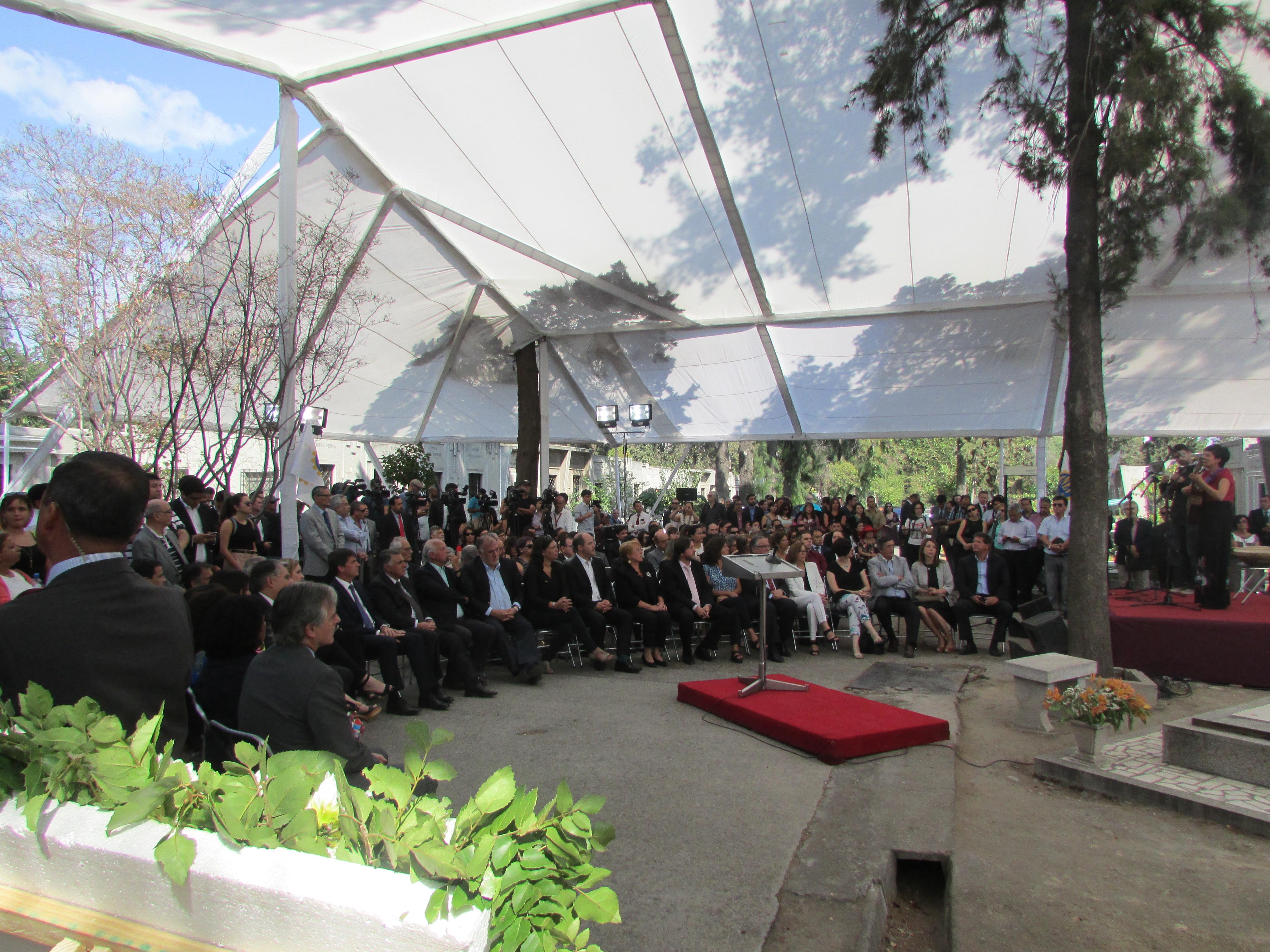 Conmemoración de los 35 años de la muerte de Tucapel Jiménez - 27 Febrero 2017