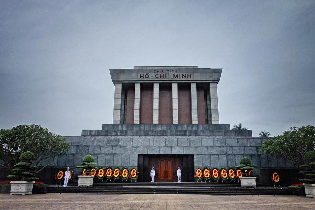 Hanoi - Mausolée Ho Chi Minh