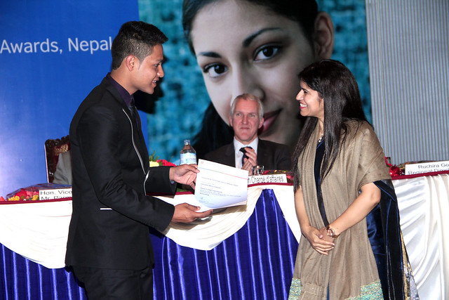 CIE Award Ceremony (Vashistha), 2015