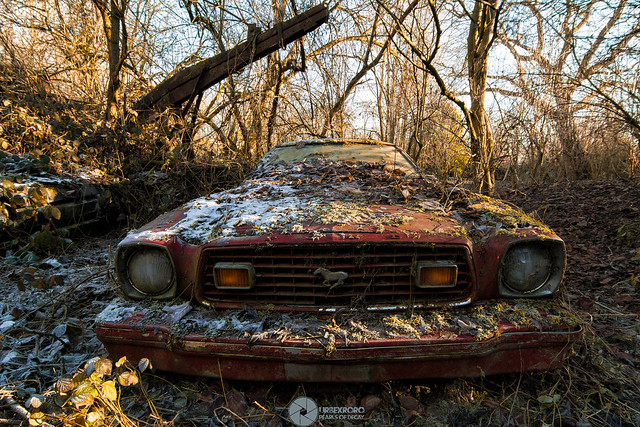 Rusty Abandoned Cars Flickr