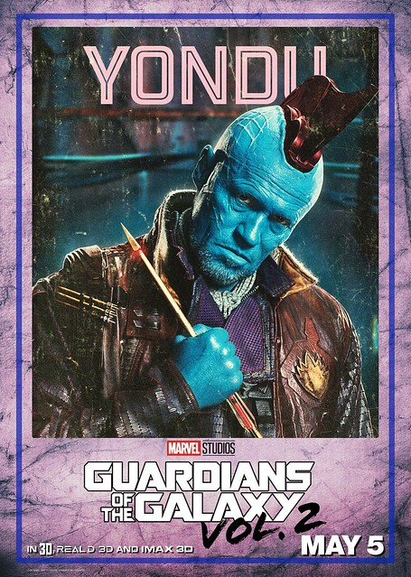 Guardians of the Galaxy Vol 2 (2017) poster Yondu