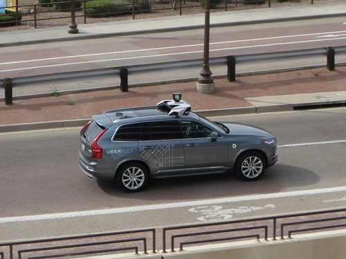 Uber testing self-driving car | by zombieite