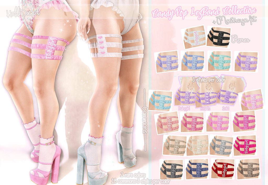 HolliPocket-CandyPops LegBand Ad