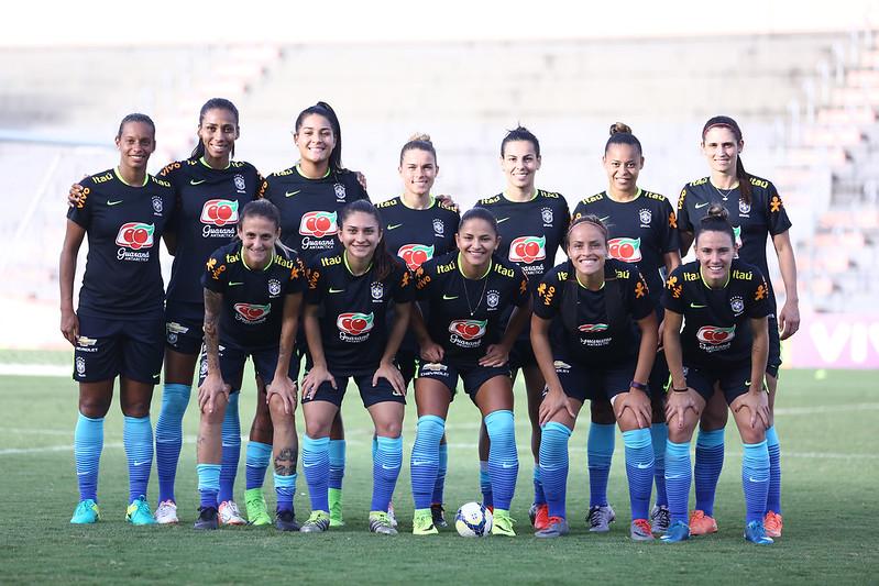 Último treino da Seleção Feminina em Manaus