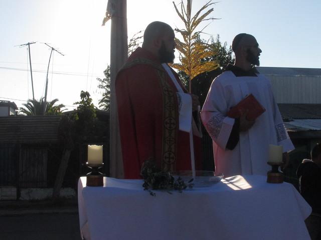 Domingo de Ramos no Chile