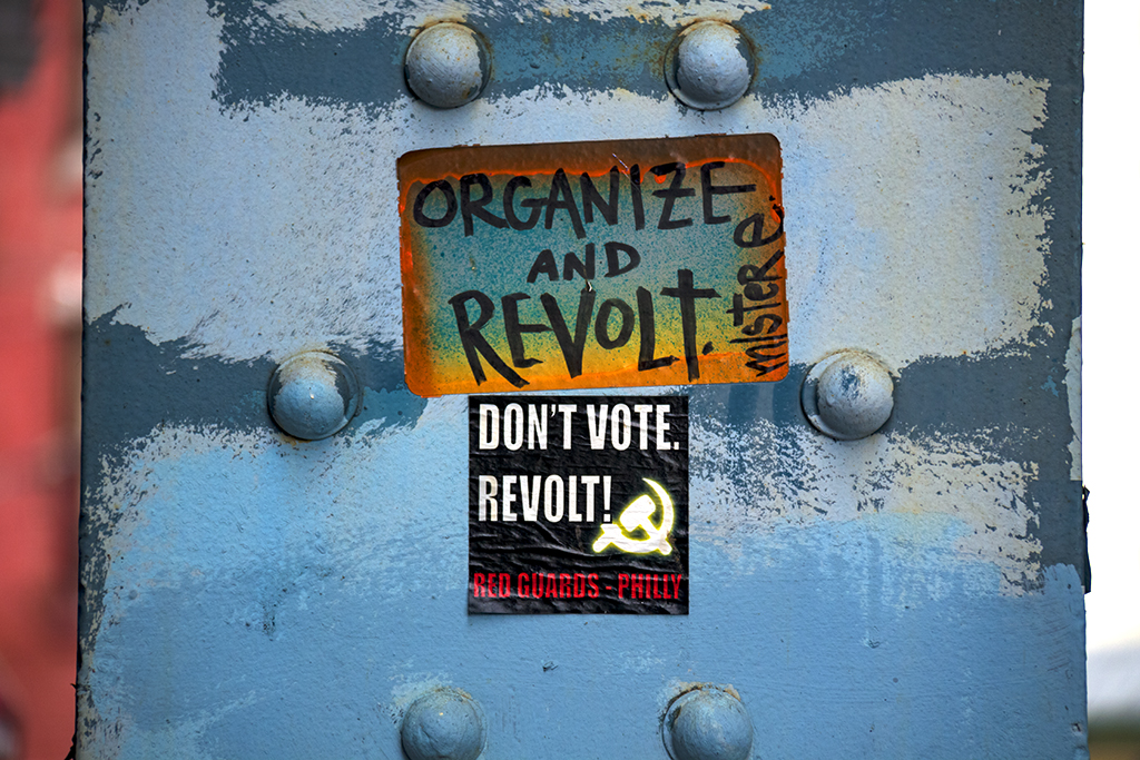 DON'T VOTE REVOLT--Kensington