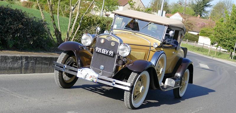 Ford type A 1931 - Brétigny sur Orge Avril 2017 33371673794_64e2396e06_c