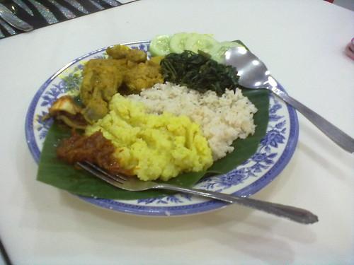 Mum's nasi lemak 2