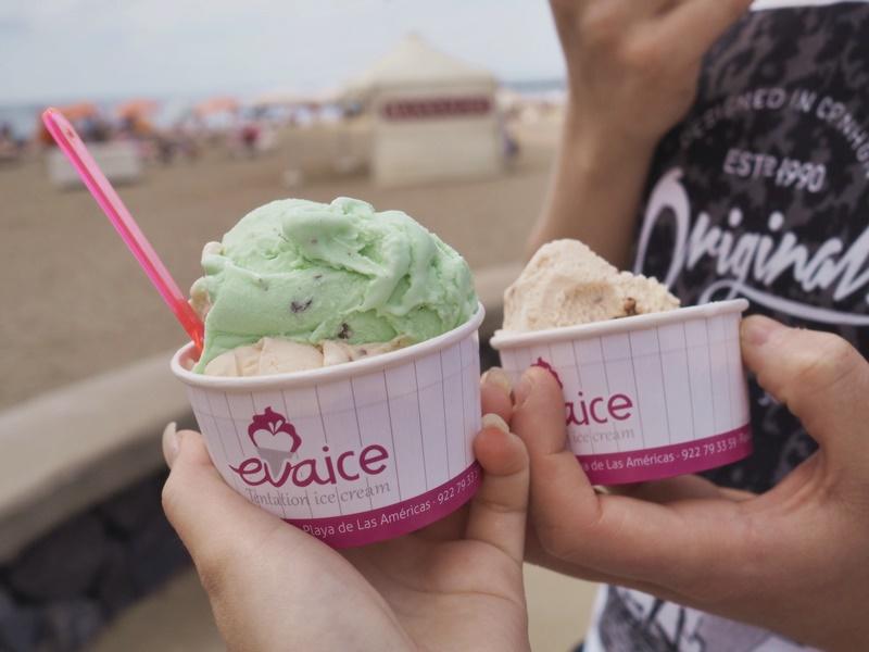 ice-cream-jäätelö-loma-teneriffa