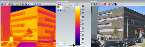Infrared Camera for Building Exterior