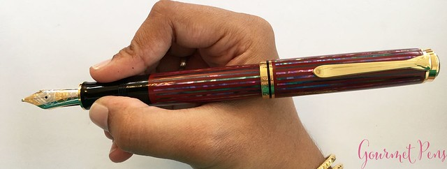 Review Pelikan Souverän M1000 Sunrise LE Fountain Pen @Pelikan_Company @vulpennen 9