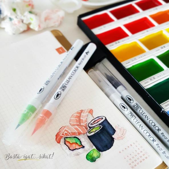 Zig Kuretake Gansai Tambi Watercolors