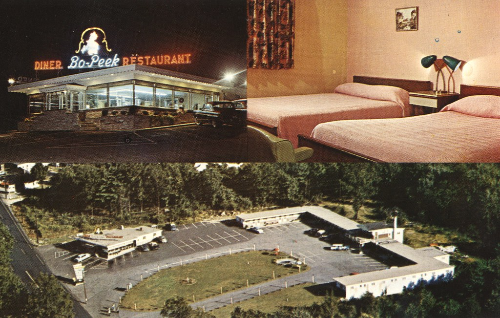 Sky-View Motel & Bo-Peek Restaurant - Providence, Rhode Island