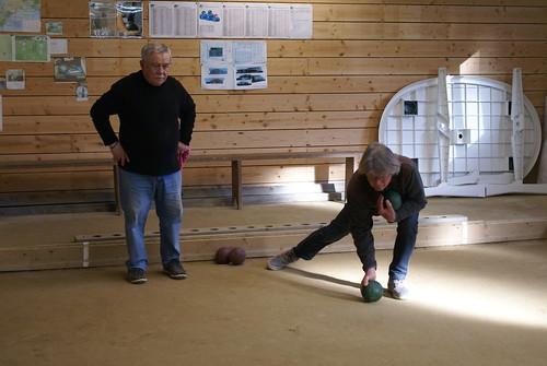 01/04/2017 - Plougasnou : Concours de boules plombées en tête-à-tête