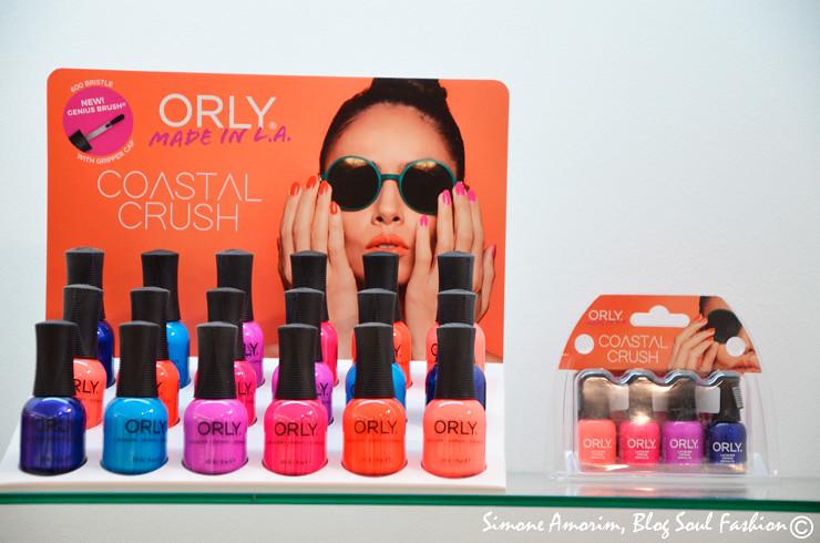 Outra linha da Orly para o verão 2017 é a Costal Crush. 6 Cores vibrantes,