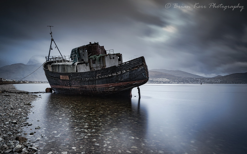 The old boat the old boat the old boat at corpach on the for What to do with an old boat