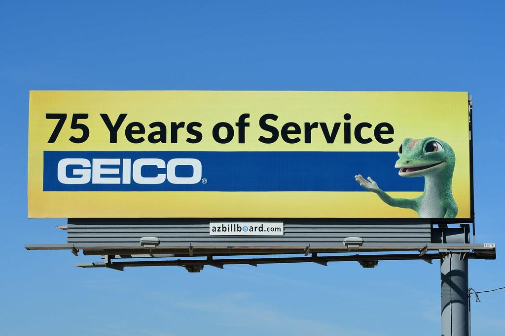 GEICO billboard - Santan Freeway Loop 202, Chandler, AZ ...