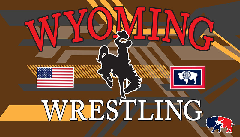 Wyoming banner template