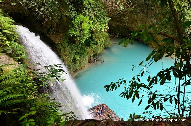 halfwhiteboy - kawasan falls, badian, cebu 01