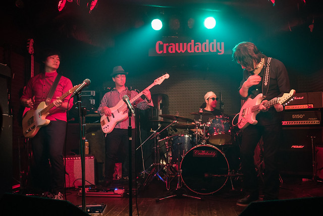 The BECK's live at Crawdaddy Club, Tokyo, 08 Apr 2017 -00236