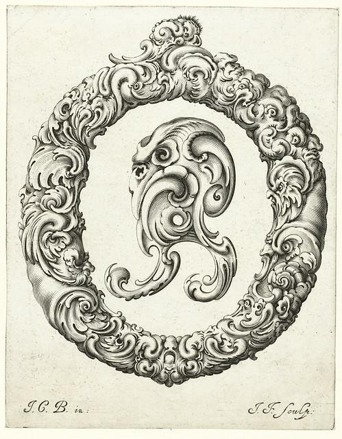 015-Letra O-Libellus Novus Elementorum Latinorum -J. C. Bierpfaff-  Rijksmuseum