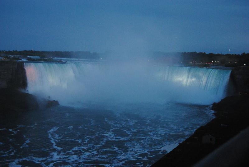 Horseshoe Falls from Niagara Falls, Ontario