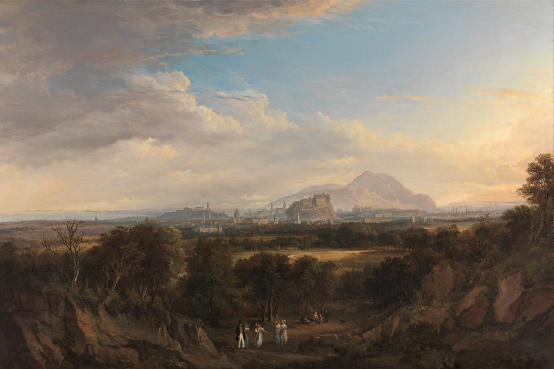 Alexander Nasmyth - A View of Edinburgh from the West (c.1825)