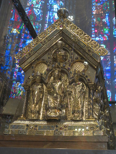 The reliquary / tomb of Charlemagne