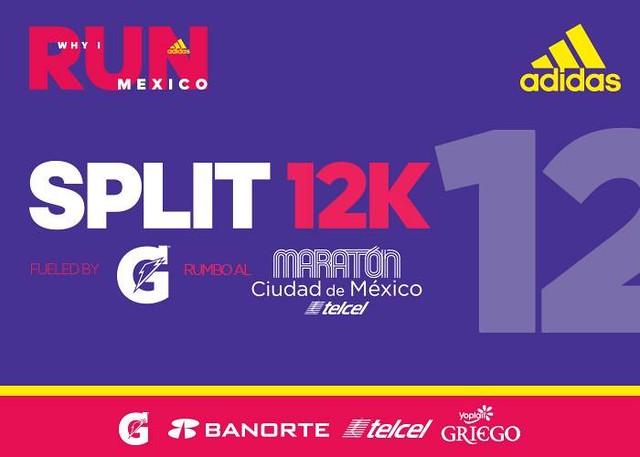 Split adidas 12K 2017