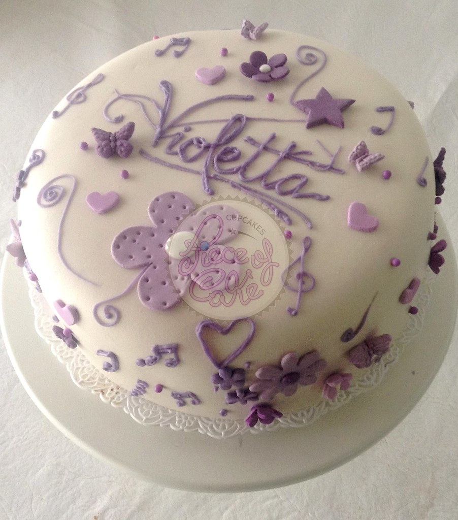 Torta Cake Design Violetta : Torta Violetta en fondant Piece of Cake Cupcakes! Flickr