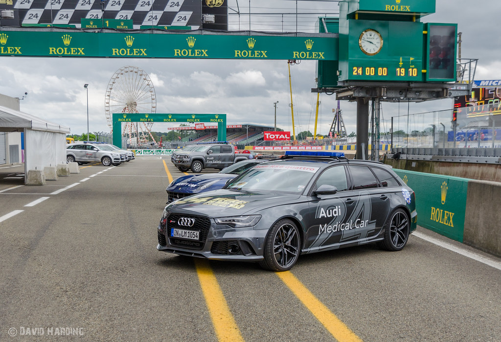 Audi Rs6 Avant Medical Car At The 2013 Le Mans 24 Hours