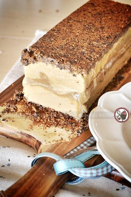 Biscoff Ice Cream Terrine With Vegemite Salted Caramel and Biscoff ...