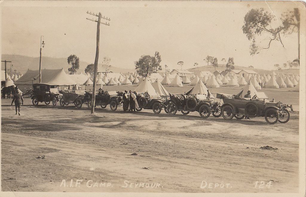 Ww1 Training Camps Camp Victoria Ww1 | by