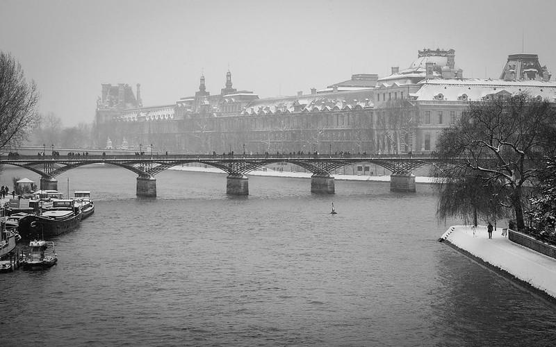 París en invierno (Stéphane Neckebrock / Flickr)