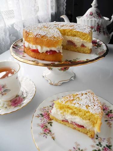 Albert Sponge Cake