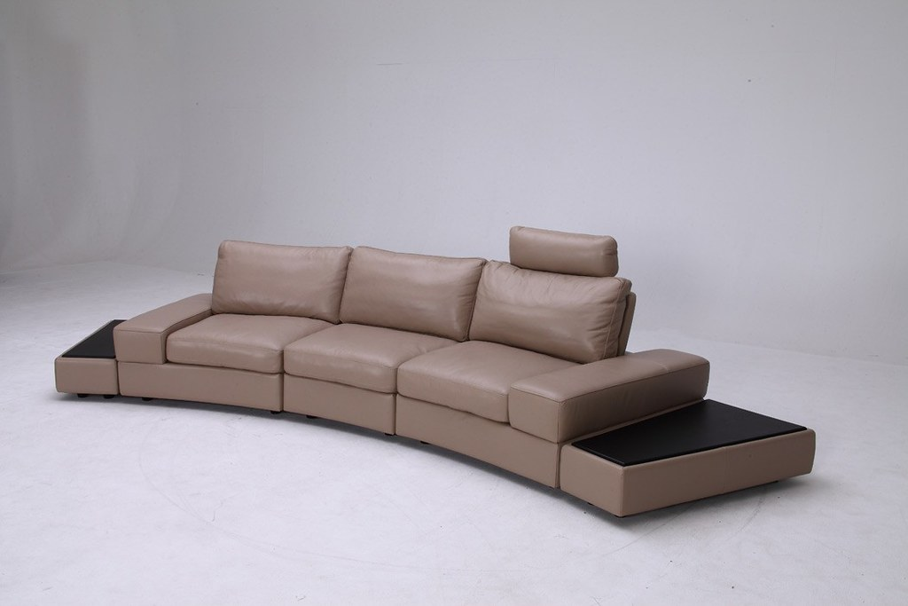 ... Modern Leather Sofa Set Furniture In Grey Color   VGKK1295B O LATTE | By