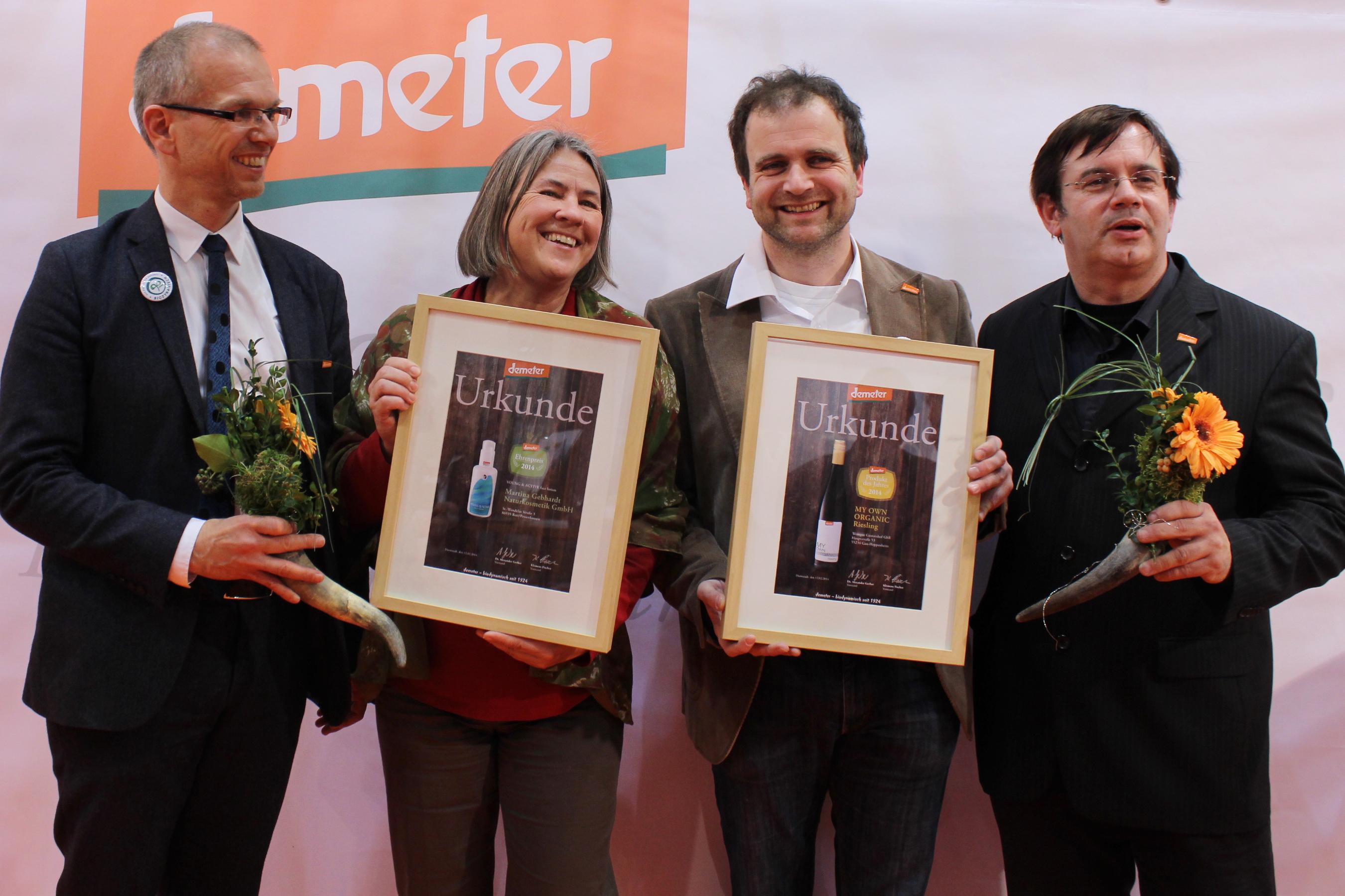 Demeter-Produkt des Jahres 2014