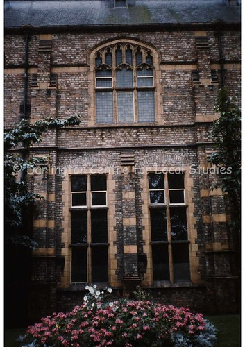 Window of old Technical College | by Darlington Local Studies Picture Collection