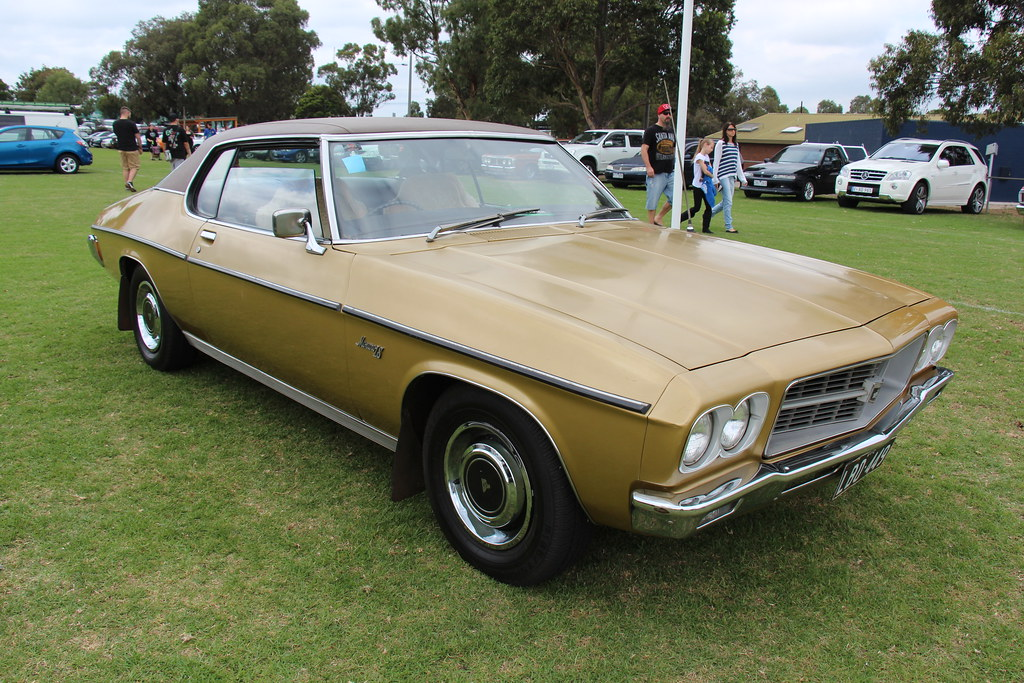 1971 Holden Hq Monaro Ls Coupe Duchess Gold The Hq