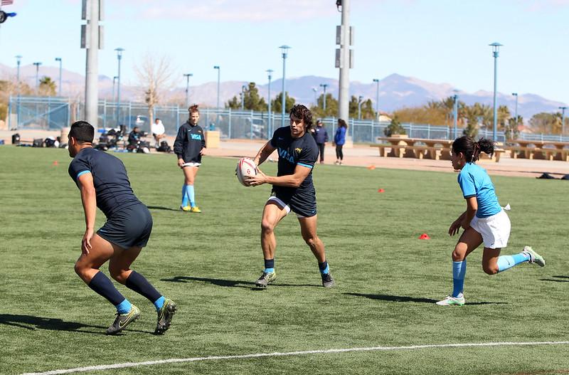 Pumas 7: Los planteles argentinos se preparan en Las Vegas