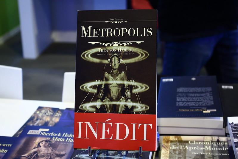 Metropolis de Thea Von Harbou (Terre de Brume) - Livre Paris 2017