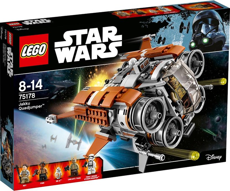LEGO Star Wars Estate 2017 - Jakku Quadjumper (75178)