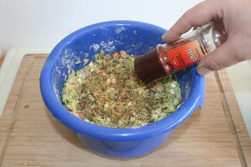 28 - Mit Chiliflocken abschmecken / Taste with chili flakes