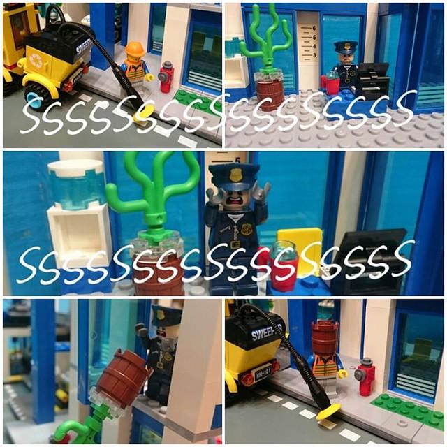 Annoying noise  #lego #legominifigures #legocity #legostory #legocomic #legopolice