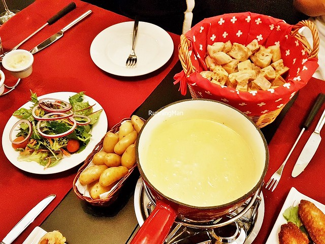 Cheese Fondue Moitié-Moitié Set