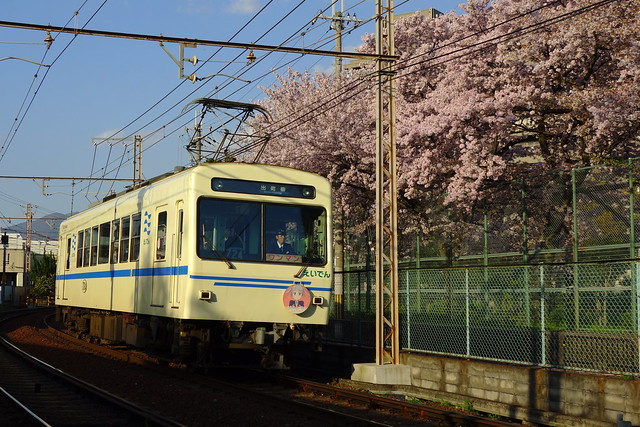 2017/04 叡山電車×NEW GAME! 2016アニメ版ラッピング車両 #58